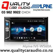 "Alpine IVE-W560A 6.2"" Bluetooth DVD ipod USB AUX NZ Tuners 2x Pre Outs Car Stereo with Easy Finance"