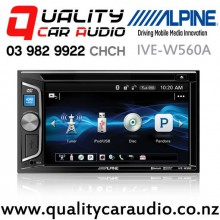 """Alpine IVE-W560A 6.2"""" Bluetooth DVD ipod USB AUX NZ Tuners 2x Pre Outs Car Stereo with Easy Finance"""