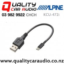 Alpine KCU-472i Standard USB Male to Lightning Connector with Easy Finance