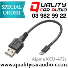 Alpine KCU-472i USB to Lightning Connector - Easy LayBy