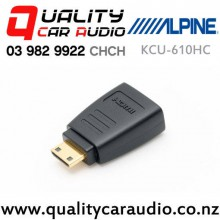 Alpine KCU-610HC Type C HDMI Converter for Cameras with Easy Finance