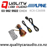 Alpine KCX-C2600B Universal Front and Rear Camera Selector with Easy Finance
