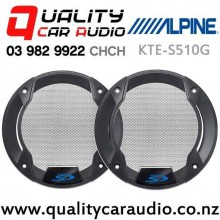 "Alpine KTE-S510G 5.25"" Speaker Grille for Alpine SPS510 (pair) with Easy Finance"