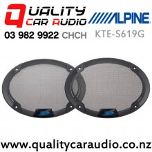 "Alpine KTE-S619G 6x9"" Type-S Speaker Grill (pair) with Easy Finance"