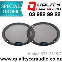"Alpine KTE-S619G 6x9"" Type-S Speaker Grill - for SPS-619"