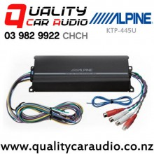 Alpine KTP-445U 180W 4 Channel Class D Compact Car Amplifier with Easy LayBy