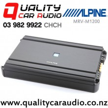 Alpine MRV-M1200 1200W Mono Channel Class D Car Amplifier with Easy Layby