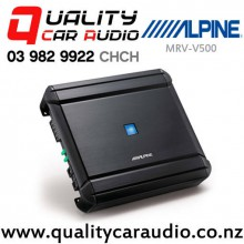 Alpine MRV-V500 250W 5/4/3/2 Channel Car Amplifier with Easy LayBy