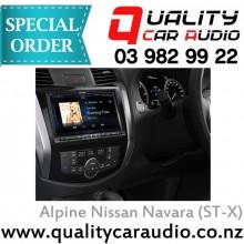 """Alpine Nissan Navara (ST-X) 8"""" Fascia Kit - Easy LayBy"""