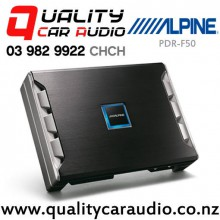 Alpine PDR-F50 250W 4/3/2 Channel Class D Car Amplifier with Easy LayBy