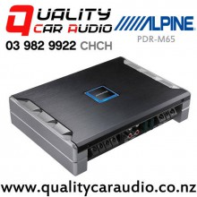 Alpine PDR-M65 650W RMS Mono Channel Class D Car Amplifier with Easy LayBy