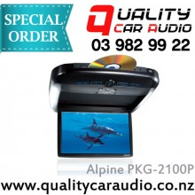 "Alpine PKG-2100P 10.2"" Overhead scrren with DVD Player - Easy LayBy"