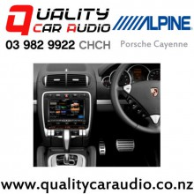 "Alpine Porsche Cayenne 8"" Fascia Kit with Easy Finance"