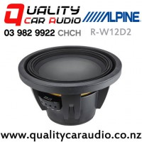 """Alpine R-W12D2 12"""" 2250W (750W RMS) Dual 2 ohm Voice Coil Car Subwoofer with Easy Finance"""