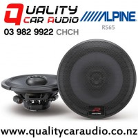 """Alpine RS65 6.5"""" 300W (100W RMS) 2 Way Coaxial Car Speakers with Easy LayBy"""