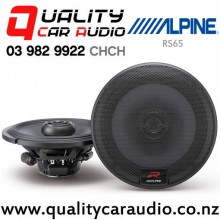 "Alpine RS65 6.5"" 300W (100W RMS) 2 Way Coaxial Car Speakers with Easy LayBy"