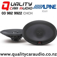 """Alpine RS69 6x9"""" 300W (100W RMS) 2 Way Coaxial Car Speakers with Easy LayBy"""
