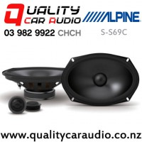 "Alpine S-S69C 6x9"" 260W (85W RMS) 2 Way Component Car Speakers (pair) with Easy Finacne"