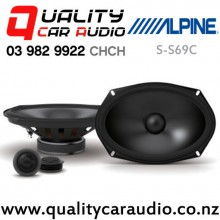 """Alpine S-S69C 6x9"""" 260W (85W RMS) 2 Way Component Car Speakers (pair) with Easy Finacne"""