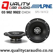 "Alpine SPJ-161C2 6"" 250W (50W RMS) 2 Ways Coaxial Car Speakers (pair) with Easy Finance"