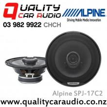 "Alpine SPJ-17C2 200W 6.5"" Coaxial 2-Way Car Speaker (Pair) with Easy LayBy"