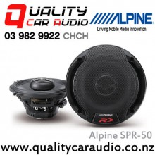 "Alpine SPR-50 5.25"" Coaxial 2 Way Type-R Car Speaker with Easy LayBy"
