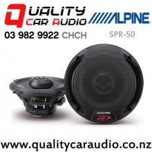 "Alpine SPR-50 5.25"" 270W (90W RMS) Type-R 2 Way Coaxial Car Speaker (pair) with Easy Finance"