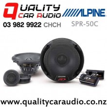 "Alpine SPR-50C 5.25"" 300W (100W RMS) 2 Way Component Car Speaker (pair) with Easy Finance"