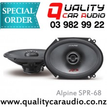 "Apline SPR-68 5x7"" / 6x8"" 300W 2 Ways Coaxial Car Speakers (Pair) with Easy Layby"