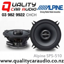 "Alpine SPS-510 5.25"" 170W 2 Ways Coaxial Car Speakers (Pair) with Easy LayBy"