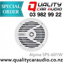 """Alpine SPS-601W 6.5"""" 110W Marine Speaker - Easy LayBy"""