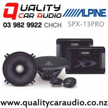 """Alpine SPX-13PRO Type X 5.25"""" 240W 2 Ways Top Model Car Component Speakers (Pair) with Easy Finance"""
