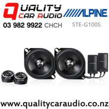 """Alpine STE-G100S 4"""" 100W (20W RMS) 2 Way Component Car Speakers (pair) with Easy Finance"""