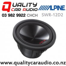 """Alpine SWS-10D2 10"""" 1000W (500W RMS) Dual 2 Ohm Voice Coil Car Subwoofer with Easy Finance"""