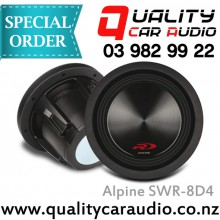"""Alpine SWR-8D4 8"""" (20cm) 1000W Dual Voice Coil (4 Ohms)  Subwoofer with Easy LayBy"""