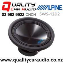 """Alpine SWS-12D2 12"""" 1500W (500W RMS) Dual 2 ohm Voice Coil Car Subwoofer with Easy Finance"""