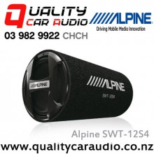 "Alpine SWT-12S4 12"" 1000W Passive Bass Tube Subwoofer with Easy LayBy"