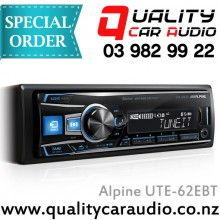 Alpine UTE-62EBT BT USB AUX Mechless Unit - Easy LayBy