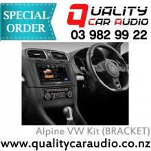 """Alpine VW Kit (BRACKET) 8"""" Fascia Kit - Easy LayBy"""