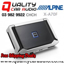 Alpine X-A70F 350W RMS 4/3/2 Channel Class D Car Amplifier with Easy Finance