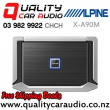 Alpine X-A90M 900W RMS Mono Channel Class D Car Amplifier with Easy Finance