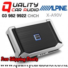 Alpine X-A90V 500W RMS 5/4/3/2 Channel Class D Car Amplifier with Easy Finance