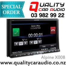 """Alpine X008 8"""" Navigation Unit With Built-in DVD - Easy LayBy"""