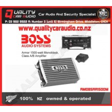 Boss Audio Armor 1500w Monoblock Class A/B Amp - Easy LayBy