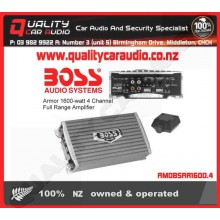 BOSS AUDIO Armor 1600w 4 Channel Full Range AMP - Easy LayBy