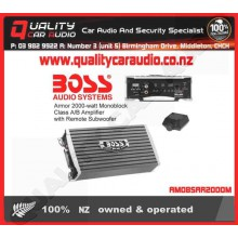 Boss Audio ARMOR R2000M 2000 Watt Mono Block AMP - Easy LayBy