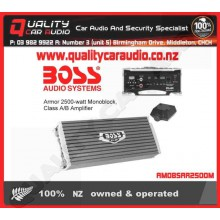 BOSS Audio Armor 2500w Mono Class A/B Amplifier - Easy LayBy