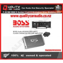 BOSS AUDIO Armor R3000M 3000W Class D AMP - Easy LayBy