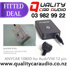 ANYCAR 1080D for Audi/VW 12 pin FITTED