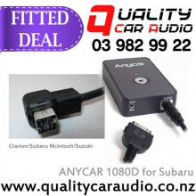 ANYCAR 1080D for Subaru McIntosh  - iPod interface FITTED